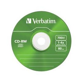 Cd-rw Regrabable Verbatim