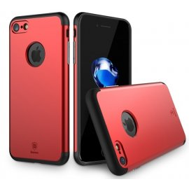 Carcasa Iphone 7 Plus Aluminio Rojo