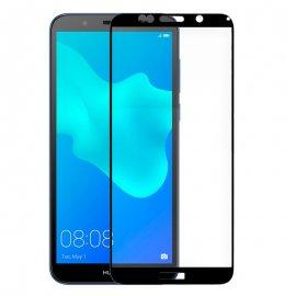 Protector Cristal Templado Huawei Y5 2018 Honor 7s Negro