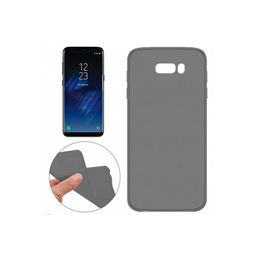 Funda Silicona Samsung Galaxy S8 Plus Negra Comprar