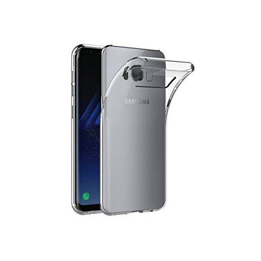 Funda Silicona Samsung Galaxy S8 Plus Transparente - Foto 1