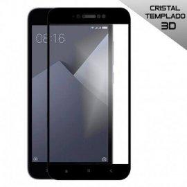 Protector de Cristal Templado Curvo Samsung Galaxy S7 Edge Negro