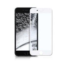 Protector de Cristal Templado Curvo Iphone 6 Blanco