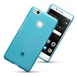 Funda Silicona Huawei P9 Lite Azul