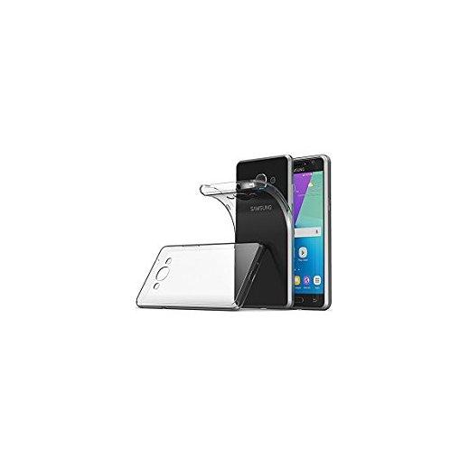 Funda Silicona Samsung Galaxy J3 2017 Transparente - Foto 1