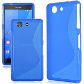 Funda Silicona Sony Xperia M5 Azul