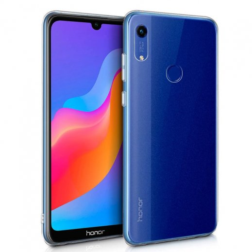 Funda Silicona Huawei Y6 2019/ Honor 8a Transparente - Foto 1