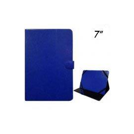 Funda Samsung Galaxy Tab A7 (2016) T280 T285 Polipiel Azul 7 Pulgadas