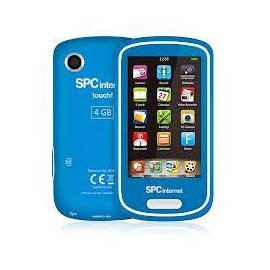 Reproductor Mp5 Touch + Radio Fm + Camara 4gb Azul 5074a
