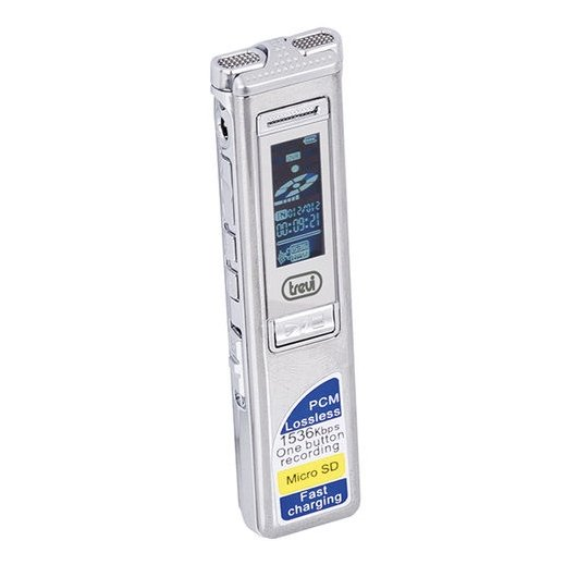 Mini Grabadora de Voz Digital Trevi 4gb Micro Sd - Foto 1