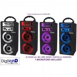 Altavoz Digivolt Hifi-16bt Karaoke