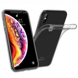 Funda Silicona Iphone Xs Max Transparente