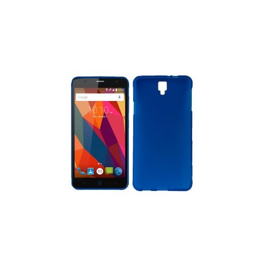 Funda Silicona Huawei Y6-2 Azul - Foto 1