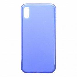 Funda Silicona Iphone Xs Max Azul
