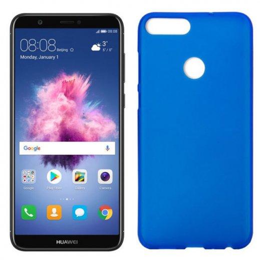 Funda Silicona Huawei P Smart Azul - Foto 1