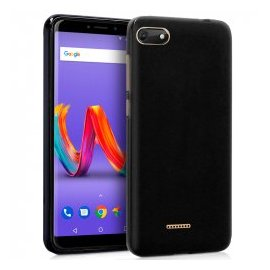 Funda Silicona Wiko Harry 2 Negra