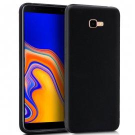 Funda Silicona Samsung J4 Plus Negra