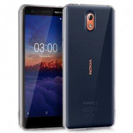 Funda Silicona Nokia 3.1 Transparente