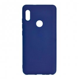Funda Silicona Xiaomi Note 6 Pro Azul