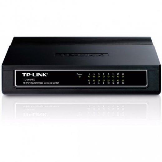 Switch Tp-link Tl-sg1016 16 Puertos 10/100/1000 - Foto 1