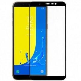 Protector Cristal Templado Samsung J4 J6 Plus 3d Negro