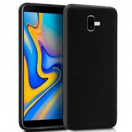 Funda Silicona Samsung J610 J6 Plus Negra