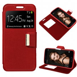 Funda Libro Huawei P10 Roja