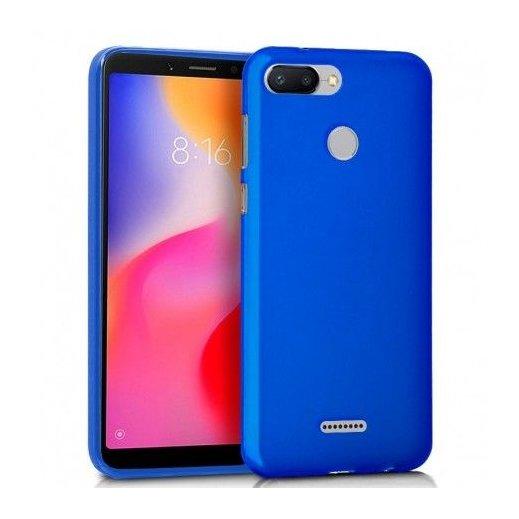 Funda Silicona Xiaomi Redmi 6/6a Azul - Foto 1