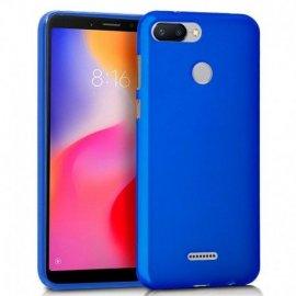 Funda Silicona Xiaomi Redmi 6/6a Azul