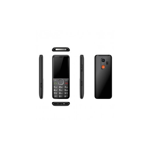 Telefono Simple Qubo Xeus Negro - Foto 1