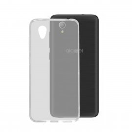 Funda Silicona Alcatel 1 Transparente
