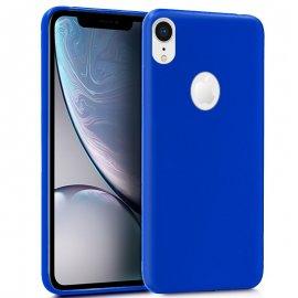 Funda Silicona Iphone Xr Azul