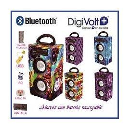 Altavoz Bluetooth Digivolt Md Hifi 34
