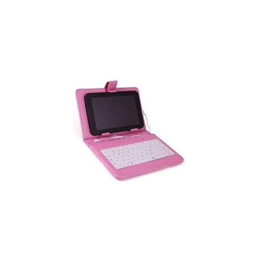 Funda Tablet 10.1 con Teclado Color Rosa - Foto 1