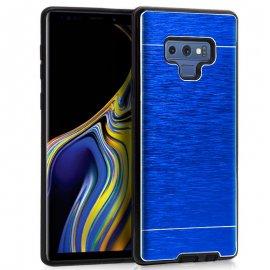 Funda Silicona y Aluminio Samsung Note 9 Azul