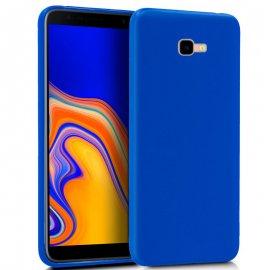 Funda Silicona Samsung J4 Plus Azul