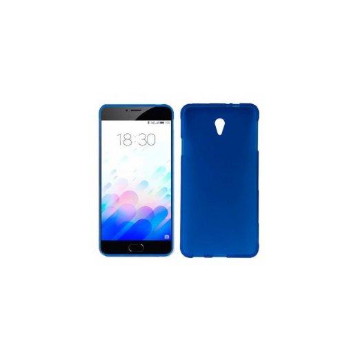 Funda Silicona Meizu M3s Azul - Foto 1