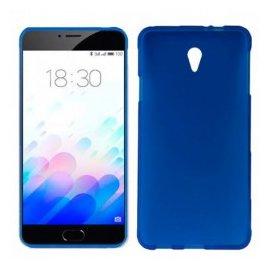 Funda Silicona Meizu M3s Azul