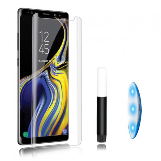 Protector Cristal Templado Uv Samsung Note 8 - Foto 1