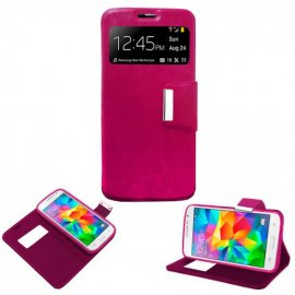 Funda Libro Iphone 6 Plus Rosa