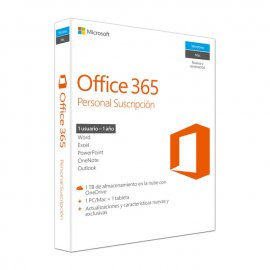 Office 365 Personal Licencia 12 Meses