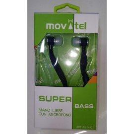 Auriculares Movatel con Microfono Pt002