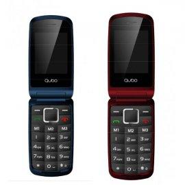 Telefono Senior Qubo Osiris Rojo