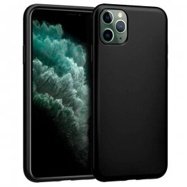 Funda Silicona Iphone 11 Pro Max Negra