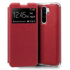 Funda Libro Xiaomi Redmi Note 8 Pro Roja