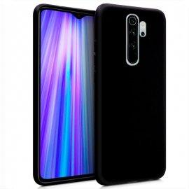 Funda Silicona Xiaomi Redmi Note 8 Pro Negra