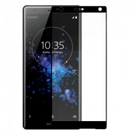 Protector Cristal Templado Sony Xperia Xz2 Negro