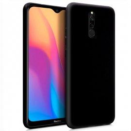 Funda Silicona Xiaomi Redmi 8/8a Negra