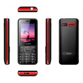 Qubo X229 Negro y Rojo Bateria Larga Duracion
