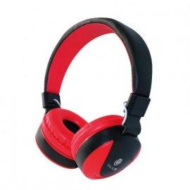 Auriculares Diadema Hph-5005 con Manos Libres Jack 3.5 Rojos